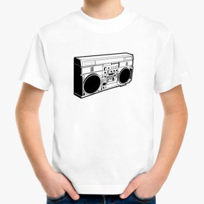 Детская футболка бумбокс