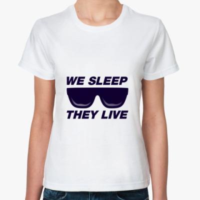 Классическая футболка They Live