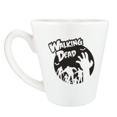 Чашка Латте Ходячие мертвецы