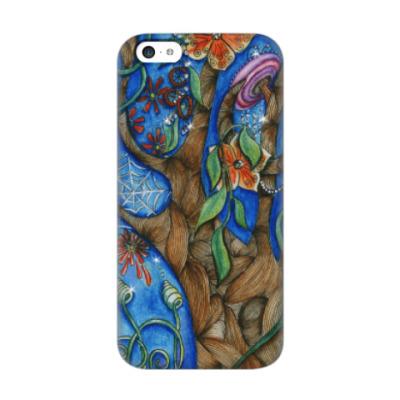 Чехол для iPhone 5c волшебный лес