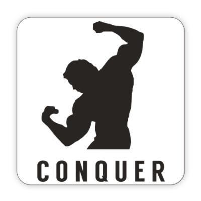 Костер (подставка под кружку) Побеждать