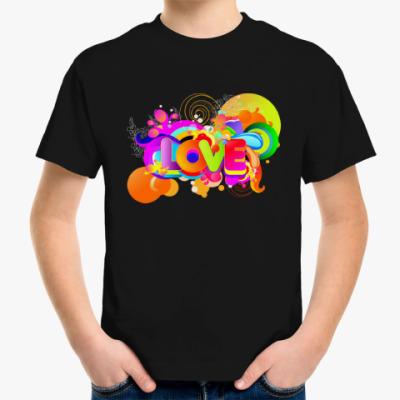 Детская футболка Радуга Любви