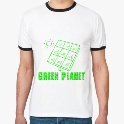 Футболка Ringer-T Green Planet