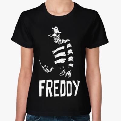 Женская футболка Фредди Крюгер