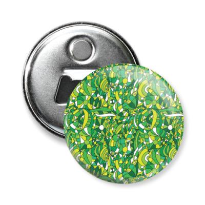 Магнит-открывашка 'Зеленое лето'