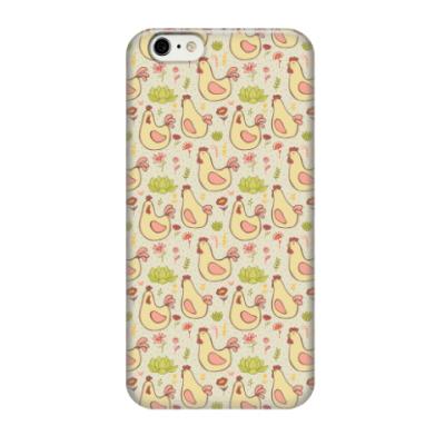 Чехол для iPhone 6/6s Петушки