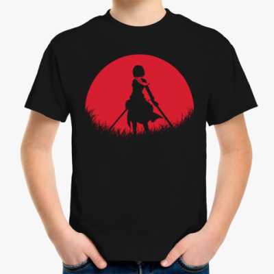 Детская футболка Красная Луна