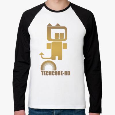 Футболка реглан с длинным рукавом Techcore-RD