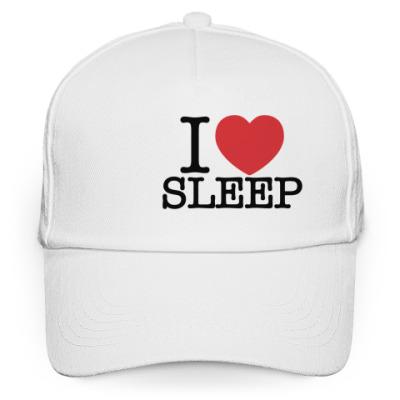 Кепка бейсболка I love sleep