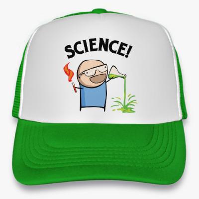 Кепка-тракер Science! Ботан