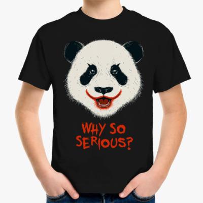 Детская футболка Панда Джокер