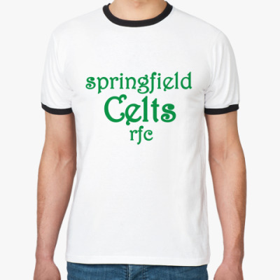Футболка Ringer-T Springfield Celts