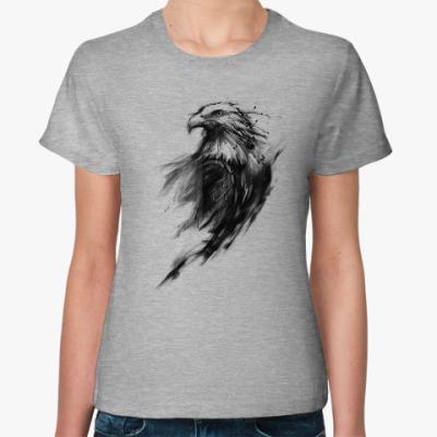 Женская футболка Орёл