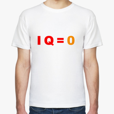 Футболка  футболка IQ