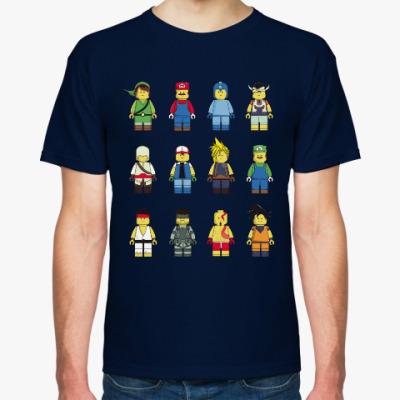 Футболка Лего Герои
