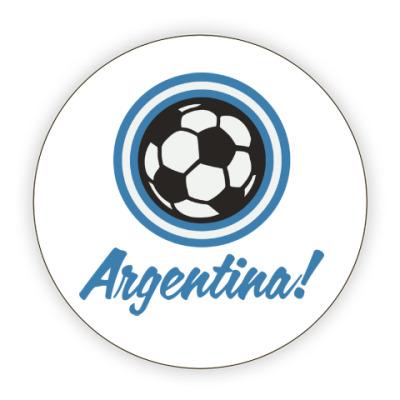 Костер (подставка под кружку) Аргентина