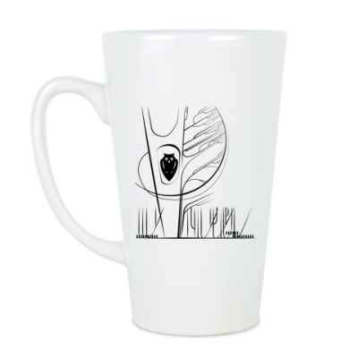 Чашка Латте BubbleForest / Сова