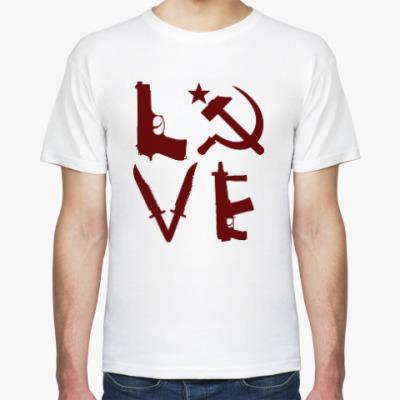 Футболка USSR love