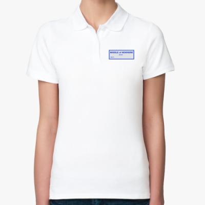 Женская рубашка поло Уличный указатель