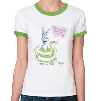 Женская футболка Ringer-T Need some hugs?