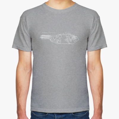 Футболка Мужская футболка Hanes (темный