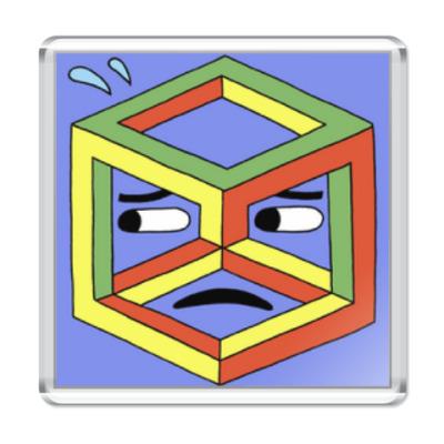 Магнит Невозможный куб