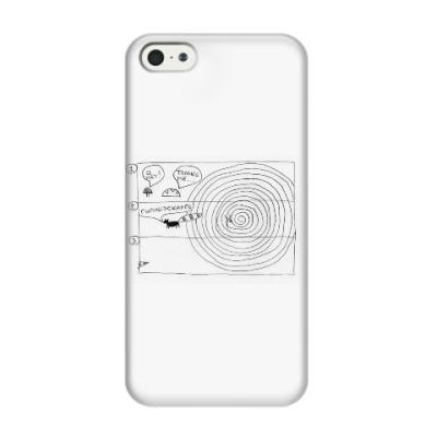 Чехол для iPhone 5/5s Чехол для iPhone 5/5s (3D) гипноэскарго