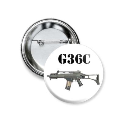 Значок 37мм G36C
