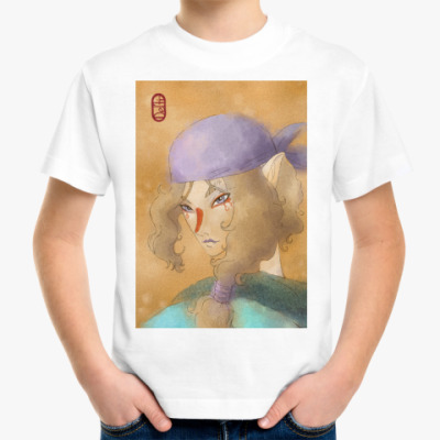 Детская футболка 'Мононоке'