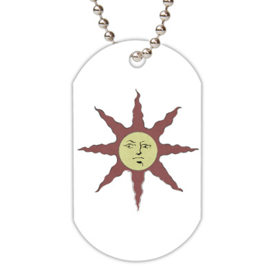 Жетон dog-tag The Sun (dark souls), Восславь солнце!