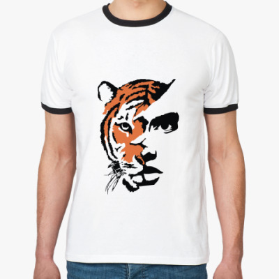 Футболка Ringer-T Тигр