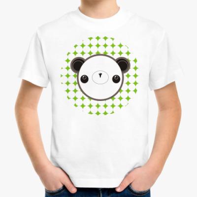 Детская футболка  'Панда'