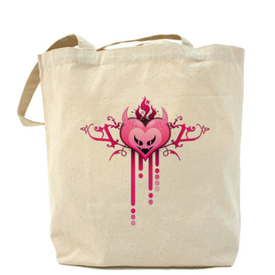 Сумка Evil Love Холщовая сумка