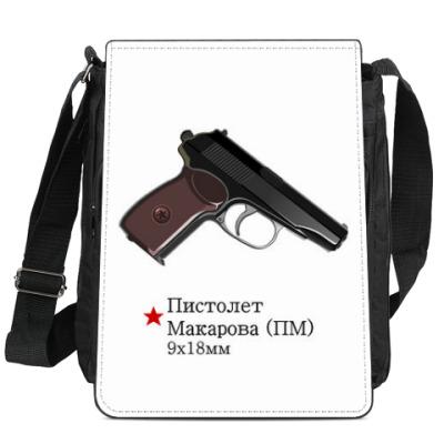 Сумка-планшет Пистолет Макарова