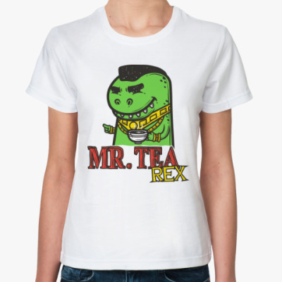Классическая футболка Тирекс
