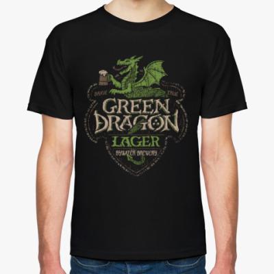 Футболка Зеленый Дракон