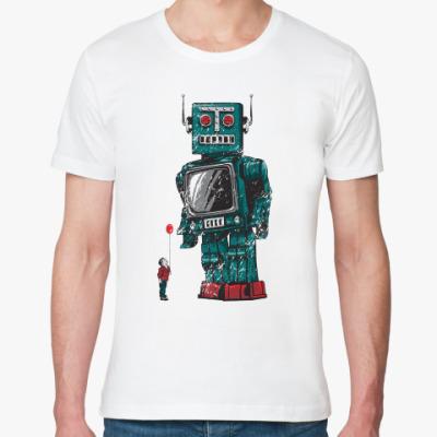 Футболка из органик-хлопка Робот
