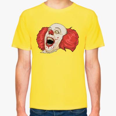 Футболка Кровавый клоун
