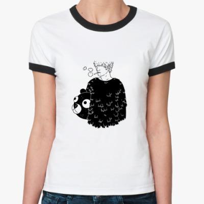 Женская футболка Ringer-T  Boy Bear