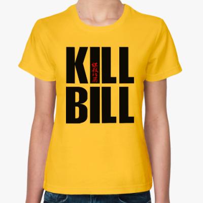 Женская футболка Kill Bill