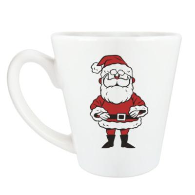 Чашка Латте Дед Мороз!