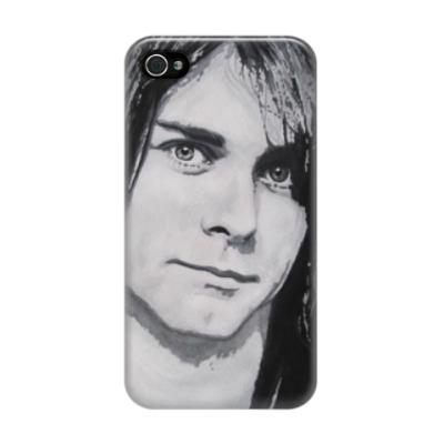 Чехол для iPhone 4/4s Kurt Cobain