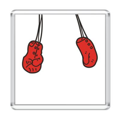 Магнит Боксёрские перчатки