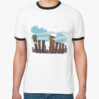 Футболка Ringer-T City
