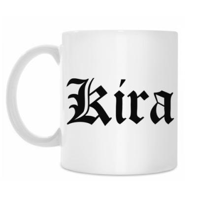 Кружка Kira тетрадь смерти