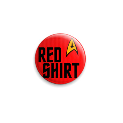 Значок 25мм Red Shirt (STR31)