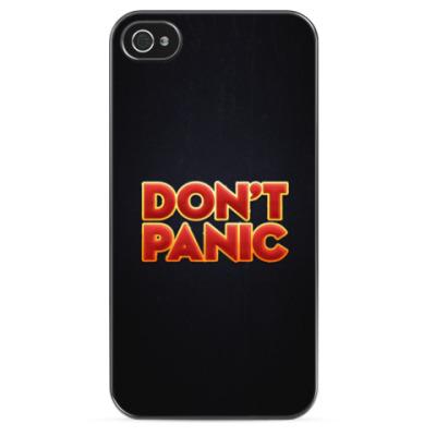 Чехол для iPhone Don't panic