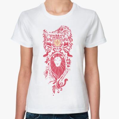 Классическая футболка Lion