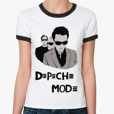 Женская футболка Ringer-T DM glasses