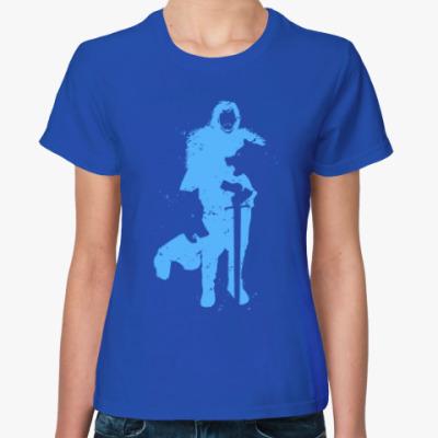 Женская футболка Игра престолов. Джон Сноу